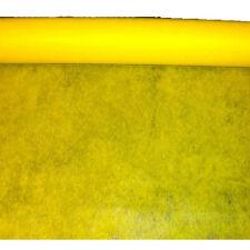 """surnappe """"Elégance"""" jaune en intissé 10 m x 120 cm c3120121 decoration de table"""