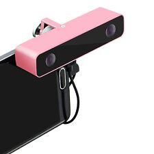 720P HD Digital Camera Body 2 Lens Kit Camcorder For VR 3D View Aluminum Case