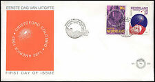 Netherlands 1992 Columbus, Europa FDC First Day Cover #C28002