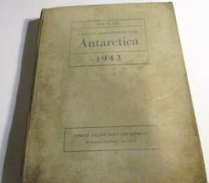 1942 Sailing Directions for Antarctica Including the off-lying Islands South of