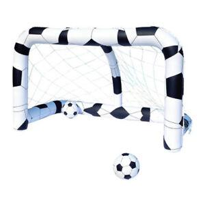 Porta da calcio gonfiabile con 2 palloni gioco da giardino mare piscina BestWay