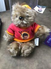 2000 Nsync Justin Timberlake Limited Edition Rare Bear All 3 Collectible Plush