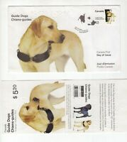 Canada Guide Dogs FDC and stamp booklet 2008