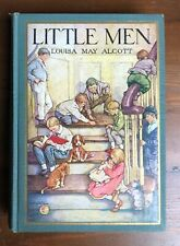 LITTLE MEN Louisa May Alcott Winston Vintage Edition Clara Burd Excellent 1928