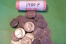1980 P Washington Quarter Roll - 40 coins