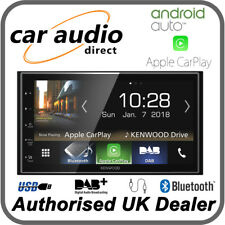 "KENWOOD DMX7018DABS 6.8"" Multimedia System BT USB DAB Android Auto Apple CarPlay"