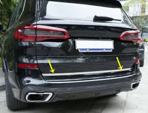 Car Rear Trunk Tailgate Molding Strip Trim Fit for BMW X5 G05 2019 2020 2021