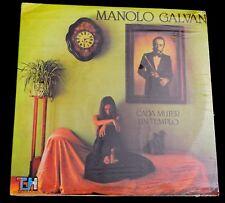 MANOLO GALVAN-CADA MUJER UN TEMPLO-LATIN,POP,CHANSON-1980-SEALED LP