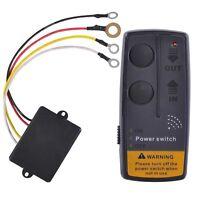 Universal 12V 65ft Wireless Winch Remote Control Kit Switch For Jeep ATV SUV UTV