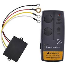 Universal 12V 65ft Wireless Winch Remote Control Kit Switch For Jeep ATV SUV UTV