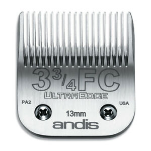 Andis UltraEdge Detachable Blade Size 3 3/4 FC - Leaves 13mm Fits AGC/AGR+ & Ost