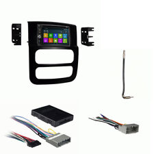 DVD GPS Navigation Multimedia Radio and Dash Kit for Dodge Ram Trucks 2002-2005
