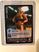 Jedi Knights Trading Card Motivated Trooper First Day Of Printing Rare Vintage