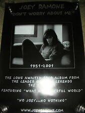 Joey Ramone - Don't Worry About Me - PROMO POSTER
