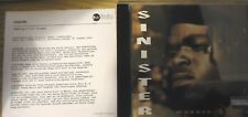 SINISTER - MOBBIN' 4 LIFE CD 1994 RARE SOUTH CENTRAL G-FUNK GANGSTA RAP BLOODS