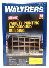 HO Scale Walthers Cornerstone 933-3161 Variety Printing Background Building Kit
