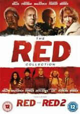 Red & Red 2 DVD The Complete Film Collection Bruce Willis Helen Mirren