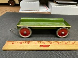 Vintage Tin Toy Wagon Cart As Shown - Repair/Replace/Restore