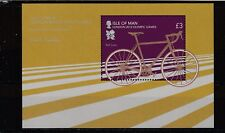 ISLE OF MAN - SGMS1721 MNH 2012 OLYMPIC GAMES LONDON - CYCLE