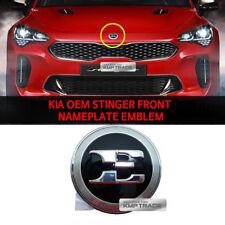 KIA OEM 86330J5100 Stinger Front Nameplate Emblem for KIA 2017 - 2018 Stinger