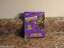 Teenage Mutant Ninja Turtles Mini Sticker Book 111 Stickers NEW