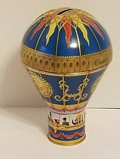 Churchills Confectionery Victorian Hot Air Balloon Bank Blue - Empty No Candy