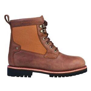 Dickies Herren Leder Boots Alabama 09000034 Brown Duck braun