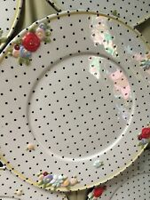 Mary Engelbreit Embossed Polka Dots Dinner Plate Me 2000