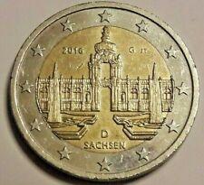 2 Euro Deutschland A 2016 Sachsen / Dresdner Zwinger Allemagne D