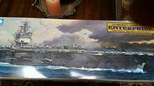 Tamiya USS Enterprise Carrier Boat - Plastic Model Military Ship Kit - 1/350