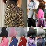 Women High Waist Yoga Pants Leopard Print Leggings Workout Fitness Activewear TS