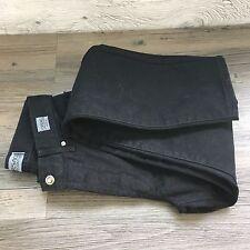 Versace Negro Jeans W28 L32