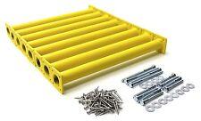"""8-Pack Steel Monkey Bar/Ladder Rung DIY Kit 1-1/4"""" x 15-1/8"""" Swing Set Hardware"""