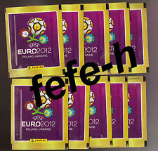 Panini - UEFA EURO 2012 - Lot de 10 Pochettes neuves