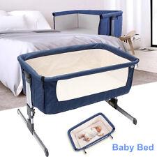 Multifunctional Baby Crib Bassinet Next Bed Beside Sleeping Cradle Nursery