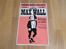 Aspects of MAX Wall Brewhouse Theatre & Arts Centre TAUNTON Poster