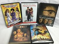 Lot Of 5 DVD MOVIES BY Universal Studios The Mummy Returns Cowboy & Aliens