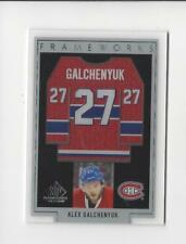 2017-18 SP Game Used Frameworks Alex Galchenyuk JERSEY Canadiens