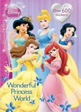 Super Stickerific: Wonderful Princess World by RH Disney Staff and Golden Books