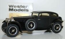 Western Models 1/43 Scale WMS32 - 1930 Bentley Barnato - Black