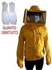 Protezione giacca con cappello schermato apicoltore || tutto cotone pieno