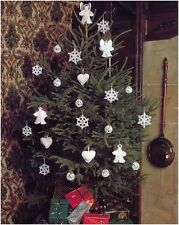 Vintage 4 Ply Crochet Pattern to Make Christmas Tree Decorations