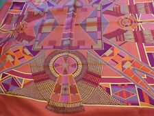 Hermes silk scarf, L'ART INDIEN DES PLAINES .NEW +BOX AND RIBBON