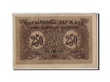 [#310433] Ukraine, 250 Karbovantsiv, 1918, Undated, KM:39a, VF(20-25)