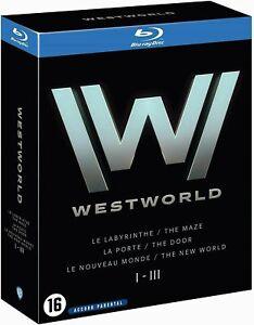 Coffret WESTWORLD - Intégrale des Saisons 1 à 3 [Blu-ray] HBO NEUF