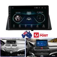 10.1'' Android 9.1  Quad-core Head Unit GPS FM  PLUG PLAY For Honda Accord 08-12