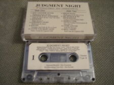 RARE PROMO UNMASTERED Judgment Night CASSETTE TAPE soundtrack SLAYER Pearl Jam !