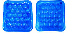 New Air Water Inflatable Cushion Seat Pad for Wheelchair Office/School/Home Blue