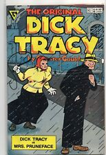 Original DICK TRACY Gladstone COMIC BOOK 1st FIRST ISSUE #1 Mrs Pruneface! 1990