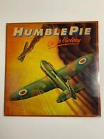 Humble Pie - On To Victory Vinyl LP 1980 UK 1st Pressing Jet Records *VG+*